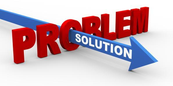 The solution to each problem lies within the problem.